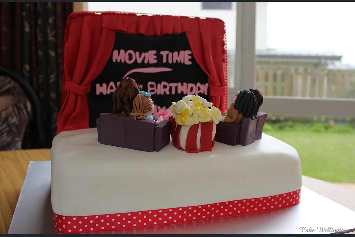 Tremendous Movie Birthday Cake Cake Wellington Funny Birthday Cards Online Kookostrdamsfinfo