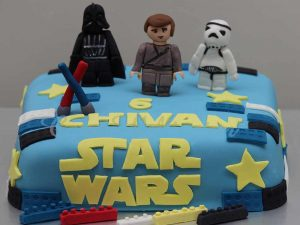 Star War Birthday Cake