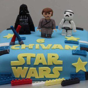 Star War Birthday Cake