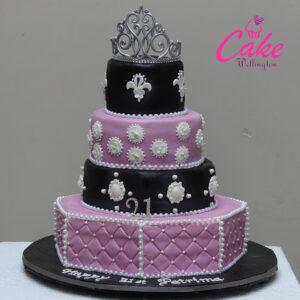 21st Birthday Cake from Cake Wellington