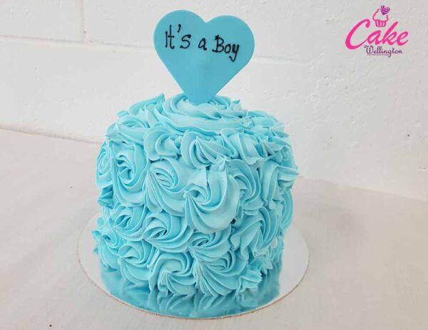 Gender revel cake