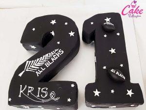 21st birthday cake Wellington NZ