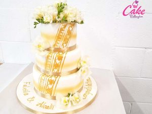 Wedding Cake from Cake Wellington