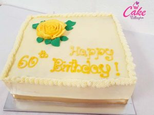 60th Birthday Cake from Cake Wellington