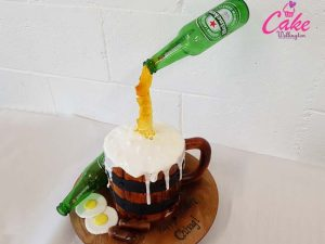 Beer Glass Cake Wellington