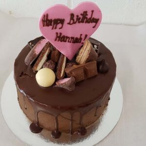 Chocolate cake for Birthday party