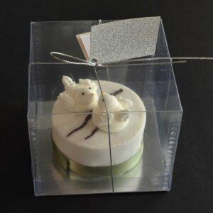 Valentine Love Bird cakes
