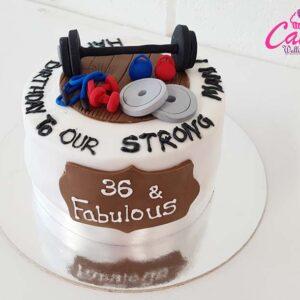 Cake for men cake wellington