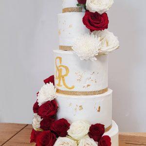 Wedding cake Wellington