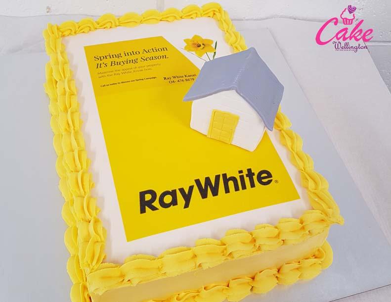 corporate cake from cake wellington