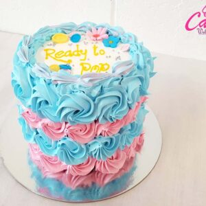 baby shower cake from cake wellington