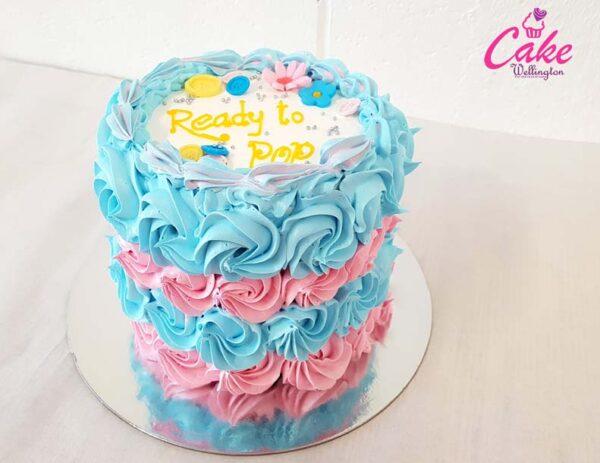 baby shower cake from cake wellington