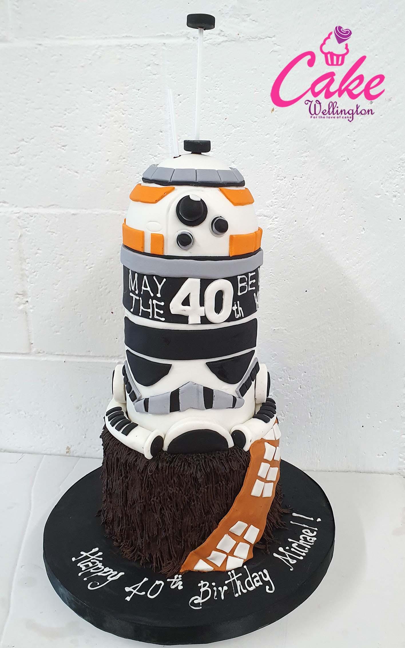 Marvelous 40Th Birthday Cake Cake Wellington Funny Birthday Cards Online Elaedamsfinfo