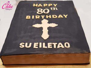 Cake Wellington 80th Birthday Cake