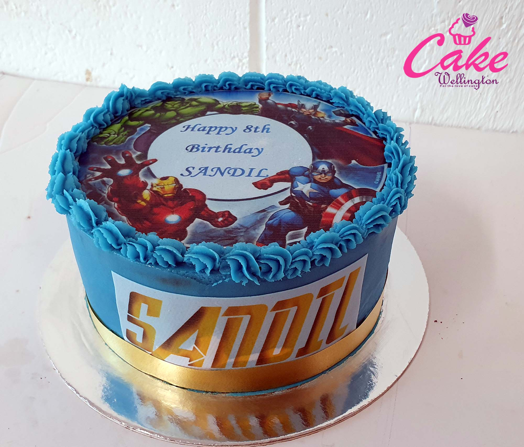 Stupendous Avenger Birthday Cake For Boys Birthday Parties From Cake Wellington Funny Birthday Cards Online Elaedamsfinfo