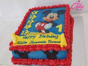 1st year birthday cake wellington