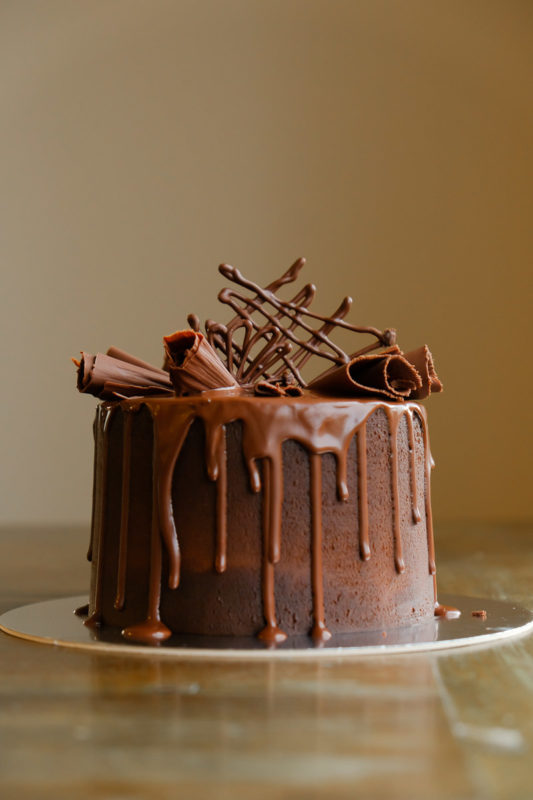 Chocolate sophisticated cake